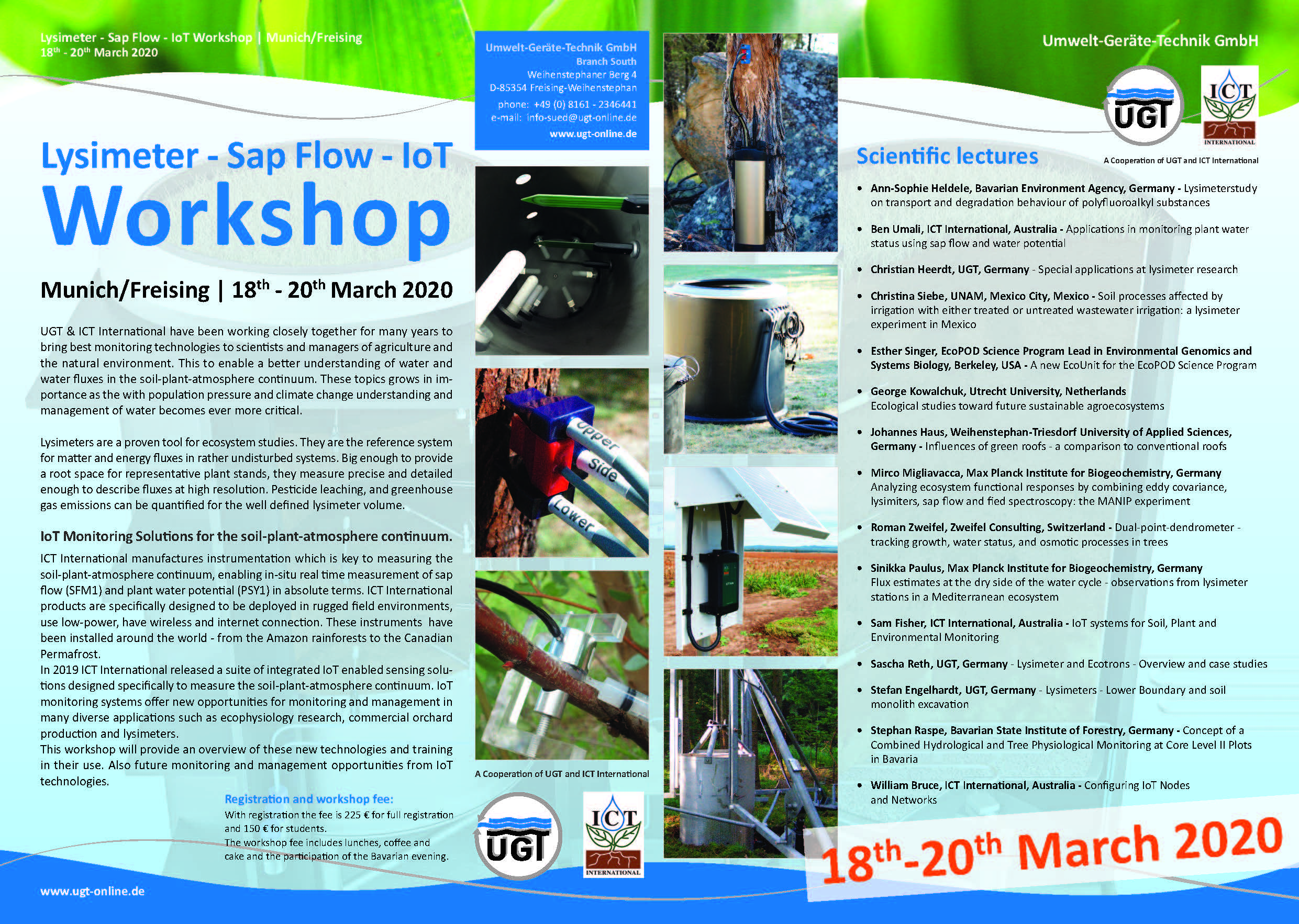 Lysimeter-SapFlow_WS 18-20March2020